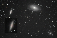 M82-Super-Nova with M81, NGC 3077