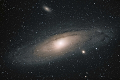 Galaxy M31 in Andromeda