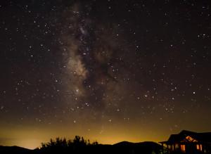 Milky Way above Grassland Mountain-by Alan Davis